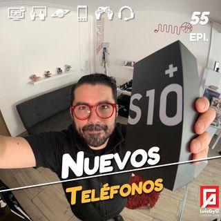 Los nuevos teléfonos de Samsung y Huawei en México, y la nueva app para cuando te pongas la pijama de madera.