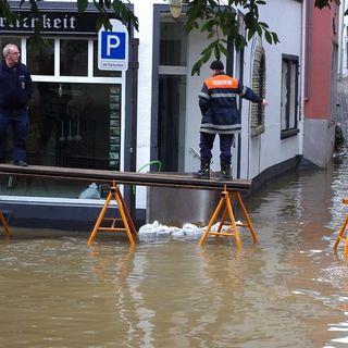 Inondazioni, in Europa occidentale sono ormai 9 volte più frequenti
