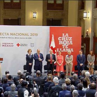 Cruz Roja Mexicana arranca colecta nacional