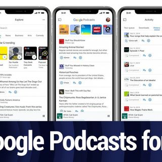 Google Podcasts Founder Talks About the Redesign | TWiT Bits
