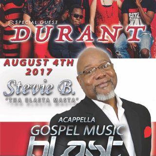 Stevie B's Acappella Gospel Music Blast - Episode 37
