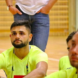 Senad Berisha från Örebro FC inför derbyt