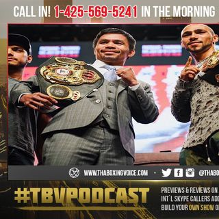 ☎️Thurman BET He's Beating Pacquiao By 1 RD KO😱 2RD KO😳Or Decisions🧐Pacquiao❓