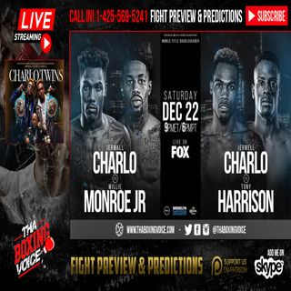 🔥Charlo vs Monroe Jr & Charlo vs Harrison International Media Conference Call☎️