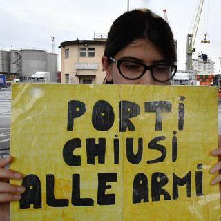 Il 16 luglio al porto di Napoli, presidio contro le navi armate
