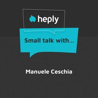 Small Talk With... Manuele Ceschia