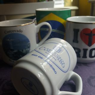 Portugués brasileiro a la taza