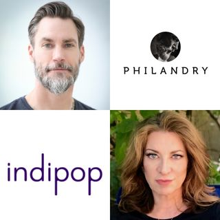 Melissa Blatt with indipop and Alec Laughlin with PHILANDRY