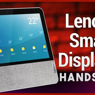 Hands-On Tech: Lenovo Smart Display 7 Hands-On