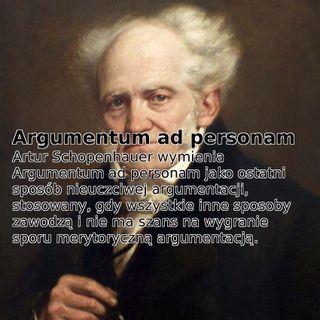 Podkast 09 - Argumentum Ad Personam