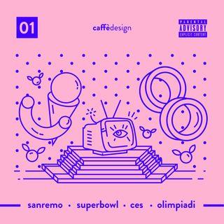 01 - Big Shows: Sanremo · Super bowl · CES · Olimpiadi