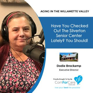 12/5/17: Dodie Brockamp with Silverton Senior Center | Have you checked out the Silverton Senior Center lately? You should!