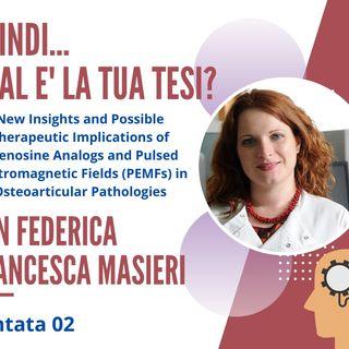 PUNTATA 02. Federica Francesca Masieri -  Professoressa Associata, Università di Suffolk