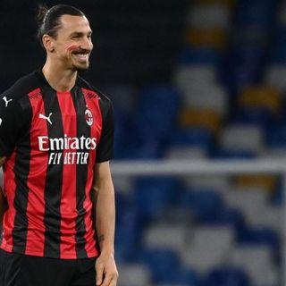 Serie A, il Milan di Ibra passa a Napoli e resta capolista davanti a Sassuolo e Roma