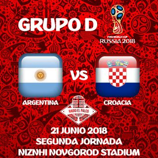 Argentina vs Croacia en VIVO