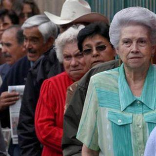 El IMSS, recomienda a mayores de 60 años, no cobrar su pensión el mismo día de pago