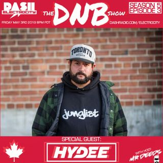 the DNB show S05E03 (guest mix Hydee)