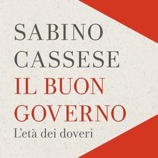 """Sabino Cassese """"Il buon governo"""""""