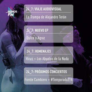 SignosFM 24_7: De La Trampa en Argentina, regresos colombianos y próximos conciertos en MX
