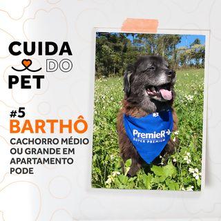 #5 Barthô | Cachorro médio ou grande em apartamento pode