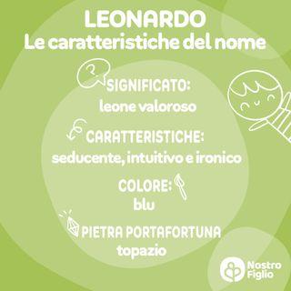 Leonardo nome per bambino