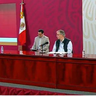 Se reportan en México 782 nuevas muertes por Covid-19