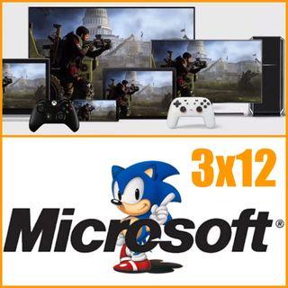 3x12. No sólo de PS5 y Series X vive el Player. Jugar sin consolas y barato. Sega y Microsoft (info podcast)