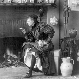 """Episode 76: Frances Benjamin Johnston: """"Still Life with Cigarette"""""""