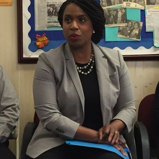 City Councilor Ayanna Pressley Calls For Defunding ICE