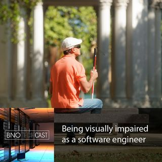 Being visually impaired as a software engineer