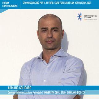 Forum Comunicazione 2021, 1°giornata | Presentazione YourVision.2021 Crowdsourcing per il Futuro | Università degli Studi di Milano Bicocca