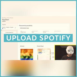#190 - Tutorial Spotify: come carico i miei brani (100K Challenge)