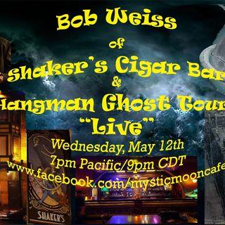 Bob Weiss of Shaker's Haunted Bar & Hangman Ghost Tours