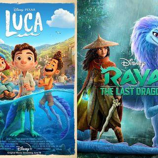 Ep 140 - Raya, Luca, and the Wisdom of Kids Movies