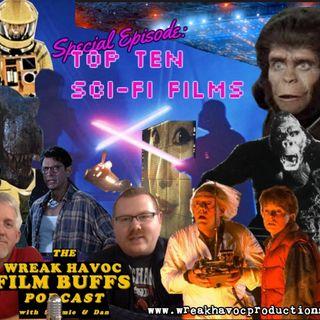 67. Top Ten Favorite Sci-Fi Films
