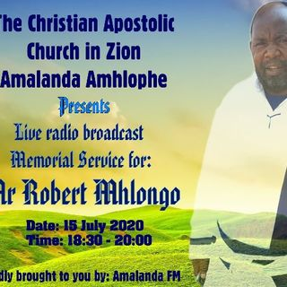 Memorial Service Mr Mhlongo