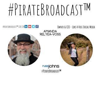 Catch Amanda Relya Voss on the #PirateBroadcast™