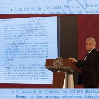 Diputados del PAN denuncian a López Obrador