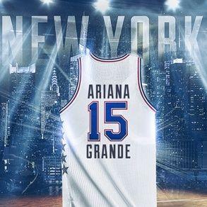 Ariana @ NBA '15