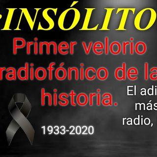 ¡INSÓLITO! Primer velorio radiofónico de la historia. El adiós al periodista más querido de la radio, Héctor Martínez Serrano.