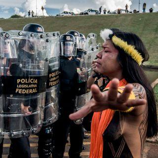 As lutas no presente das mulheres dos povos Tupinambá e Pankararu no nordeste do Brasil.