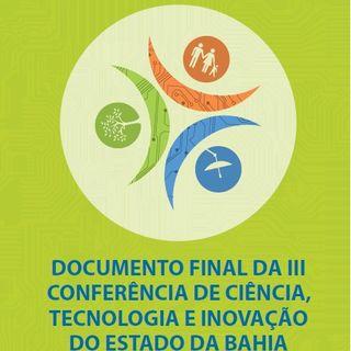 Parte II - III Conferência de Ciência, Tecnologia e Inovação