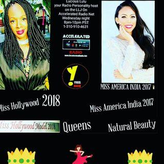 LLJ Radio Show 1/31/18 *MIss America India 2017*