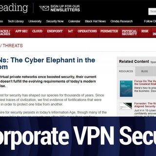 Corporate VPN Security | TWiT Bits