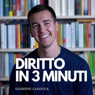 SCOMPARSA, ASSENZA E MORTE PRESUNTA - DIRITTO PRIVATO IN 3 MINUTI #11