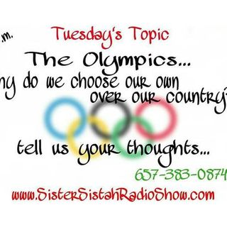 The Olympics...Why do we cheer for our own over our country?