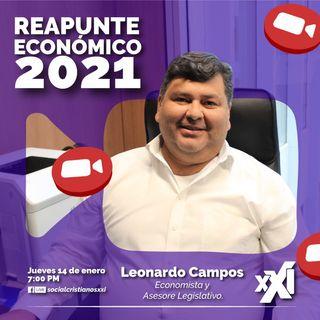 Reapunte Económico 2021 con Leonardo Campos