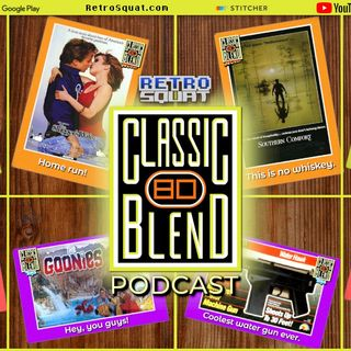 Classic Blend Podcast 80: The Goonies, Benson, T.J. Hooker & Stinger