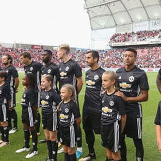 Manchester United in the U.S. for pre-season action
