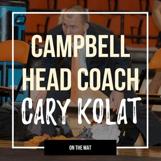 Campbell head wrestling coach Cary Kolat - OTM559